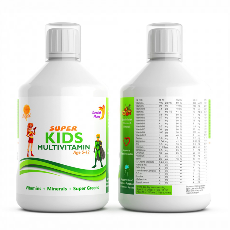 Super Kids Multivitamin 100% natural flavour @ Joy of Life